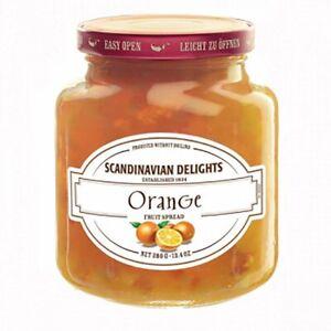 Elki's Gourmet Scandinavian Delights Preserves, Orange, 13.4 Ounce