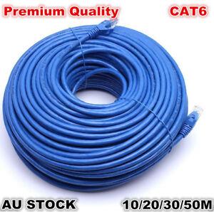 Premium 100M/1000Mbps CAT6 10M/20M/30M/50M Ethernet Rj45 Utp Lan ...