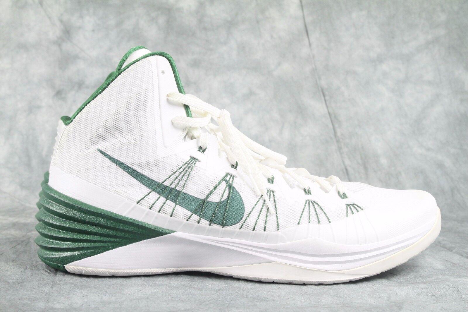 NW/OB Men's Nike White w/Celtic Green Hyperdunk 584433-104 shoes  SZ 18 ANB