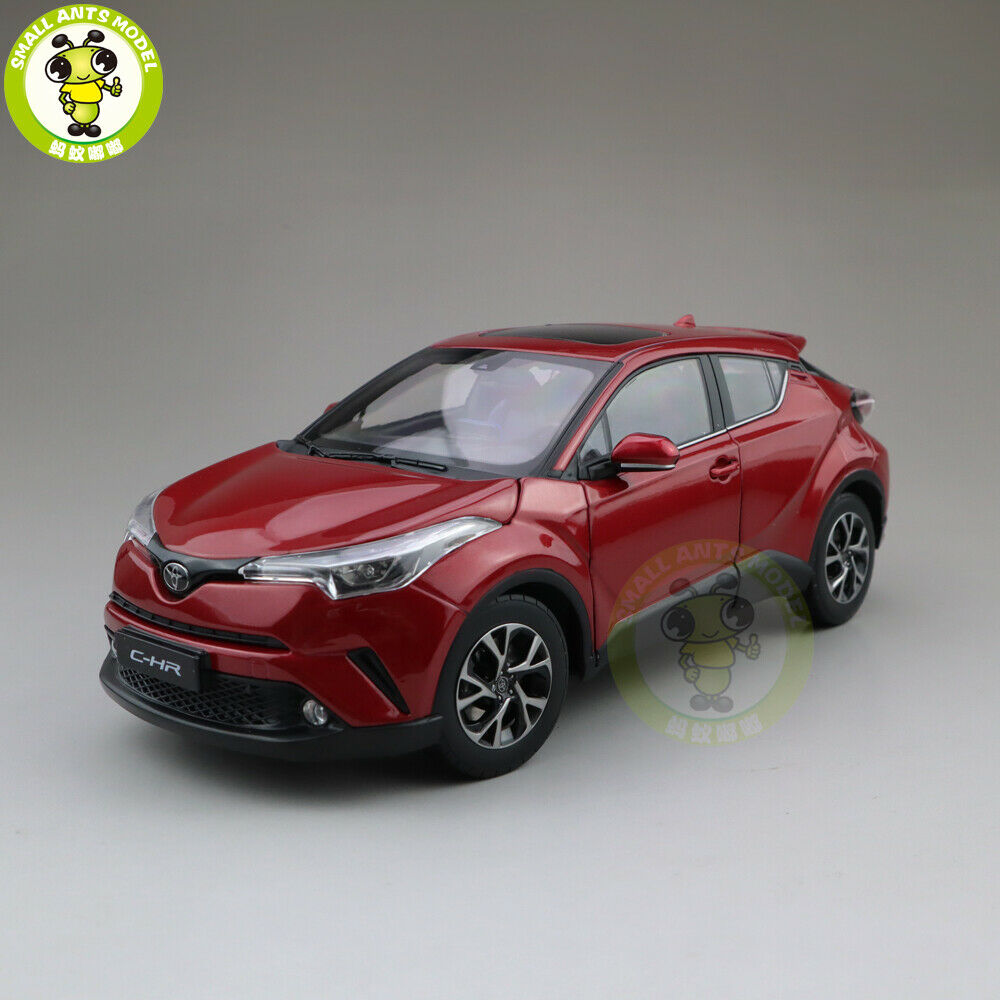 1/18 Toyota C-HR CHR Diecast SUV Car Model Toys kids gift Red