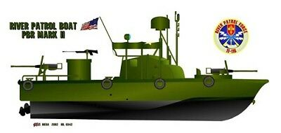 458th Infantry Regiment Patch River Patrol Boat