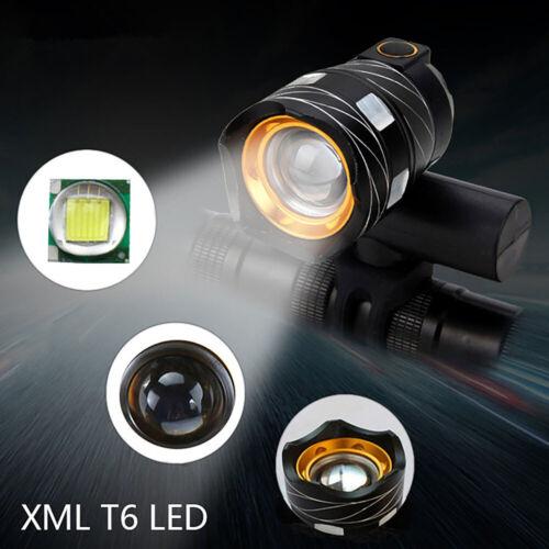 2x LED Fahrradbeleuchtung Fahrradlicht USB Fahrad Scheinwerfer Rücklicht Lampe