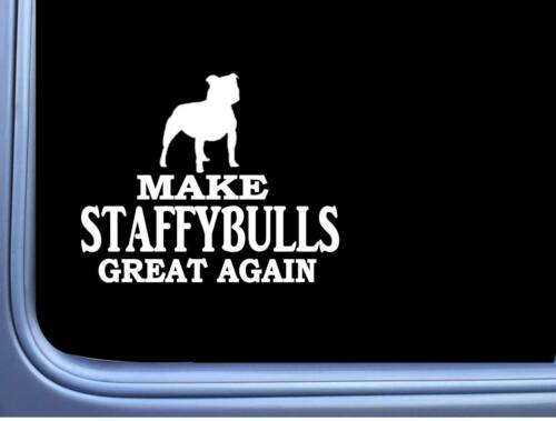 "Staffy Bull Maga L720 Dog Sticker 7/"" decal"