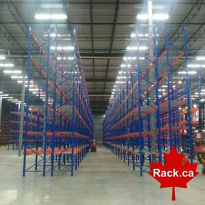 Industrial Shelving - Pallet Racking - Guardrail - Mezzanine - Cantilever - Wire Partition - Installations - Design Canada Preview