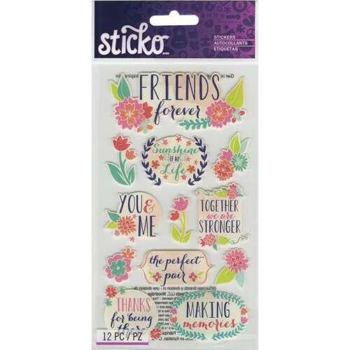 Sticko Stickers Friends 015586938234