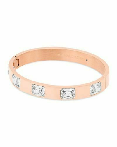 Michael Kors Rose Gold Tone Crystal