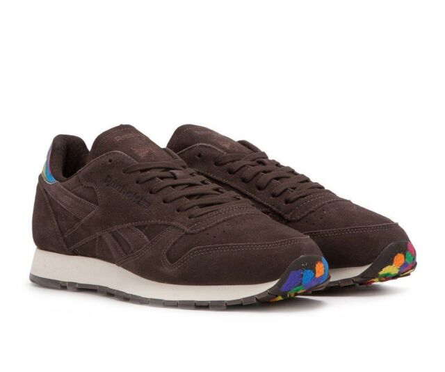 bc4cb05f49c Reebok Classic Leather MSP Size 9 Brown Munchies Pack Cosmic Brownie ...