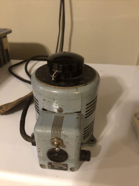 Powerstat 3PN116 Variable Autotransformer 0-140 V