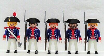 1 x HUSAR HELM RIEMEN SILBER Playmobil zu Soldat Garde Rotröcke Franzose Hussard