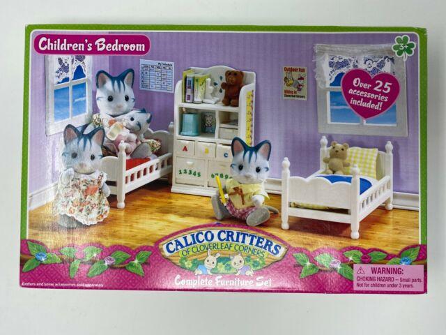 calico critters complete children's bedroom set over 25