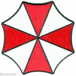 Resident-Evil-Umbrella-ecusson-neuf-brode-Parapluie-Umbrella-patch