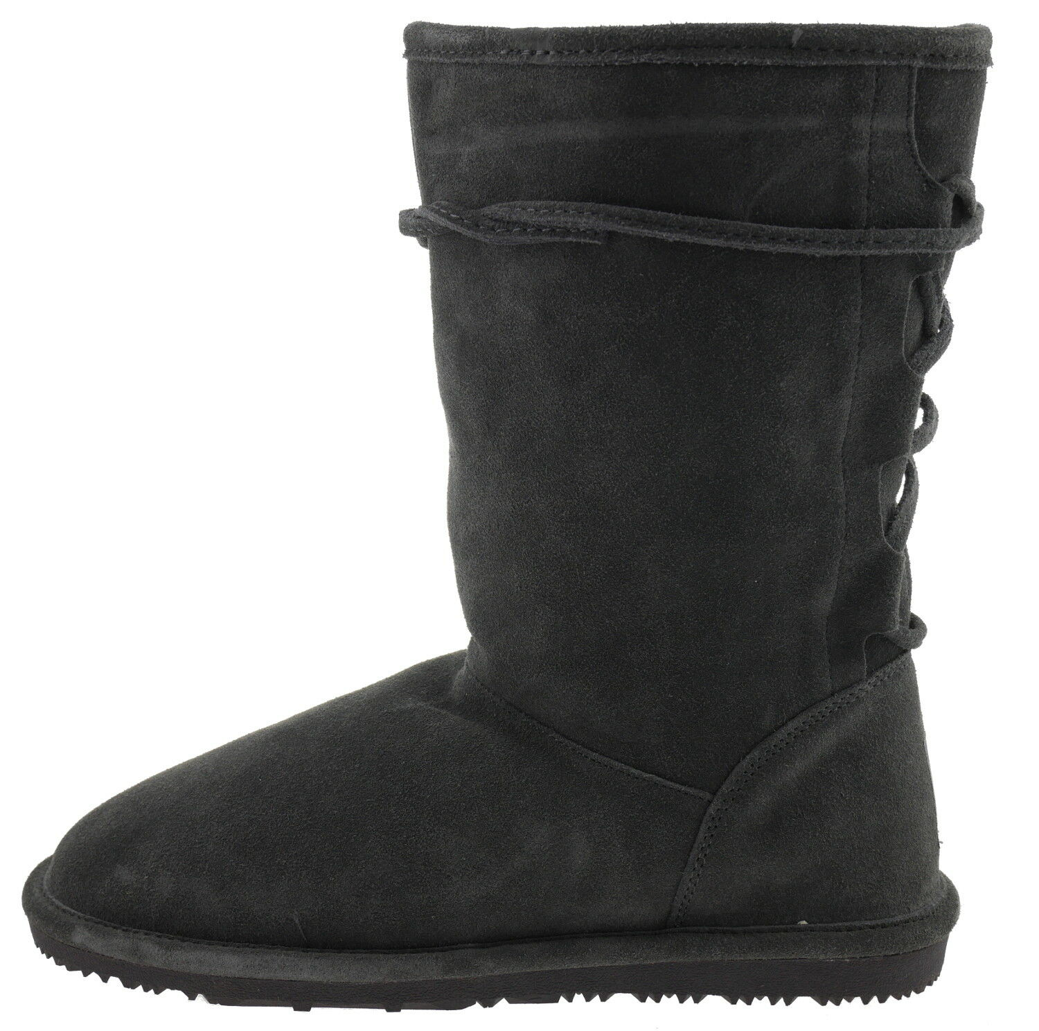 502162-1593 gooce Helene 15135 Bottes D'Hiver Doubleure Cuir Anthracite EUR 42