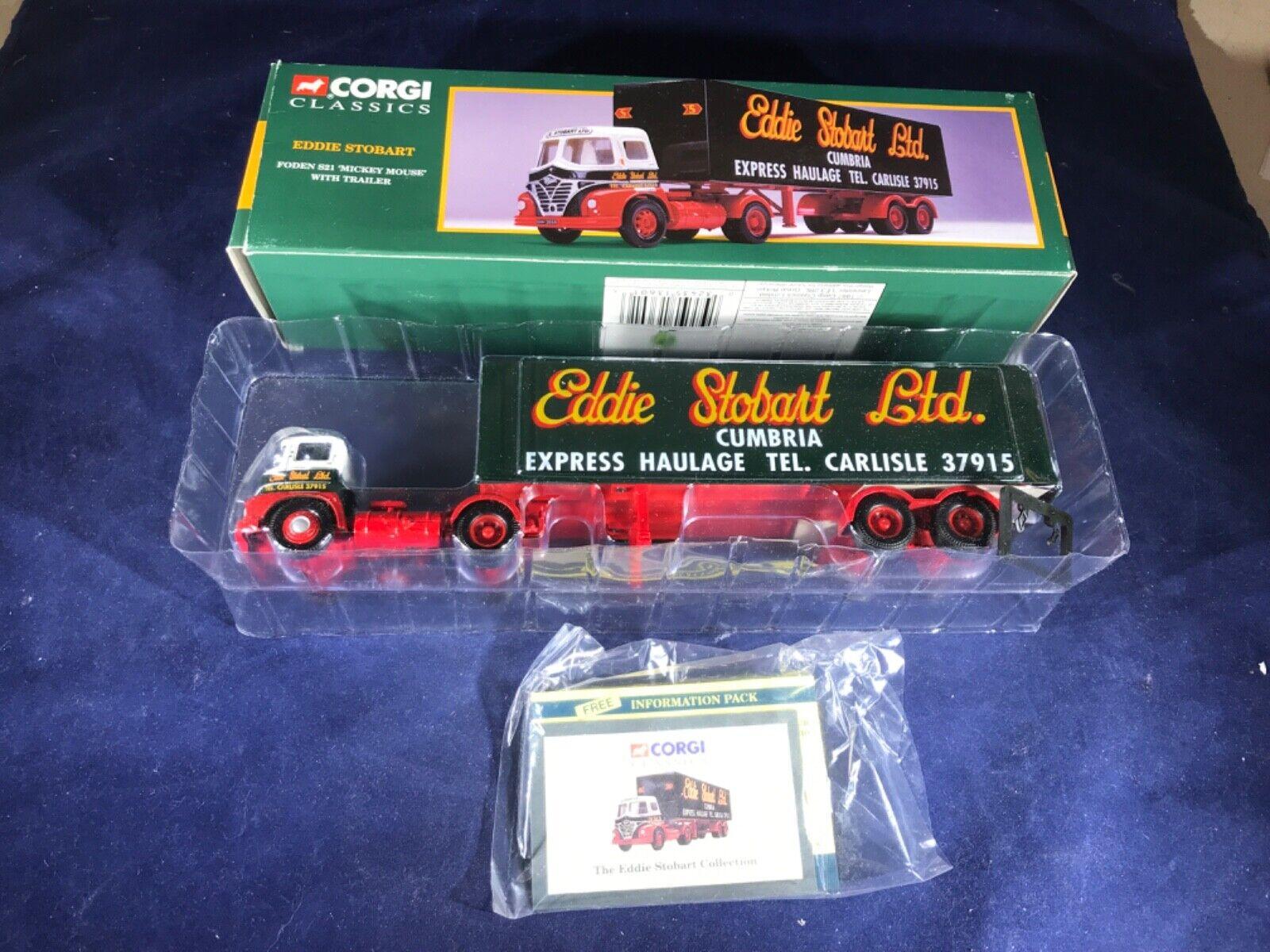 "Q-31 CORGI CLASSICS 1 50 SCALE DIE CAST TRUCK - 13601 FONDEN S21 ""MICKEY MOUSE"""