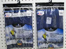 Mens Polypropylene Thermal Underwear Set XL Navy