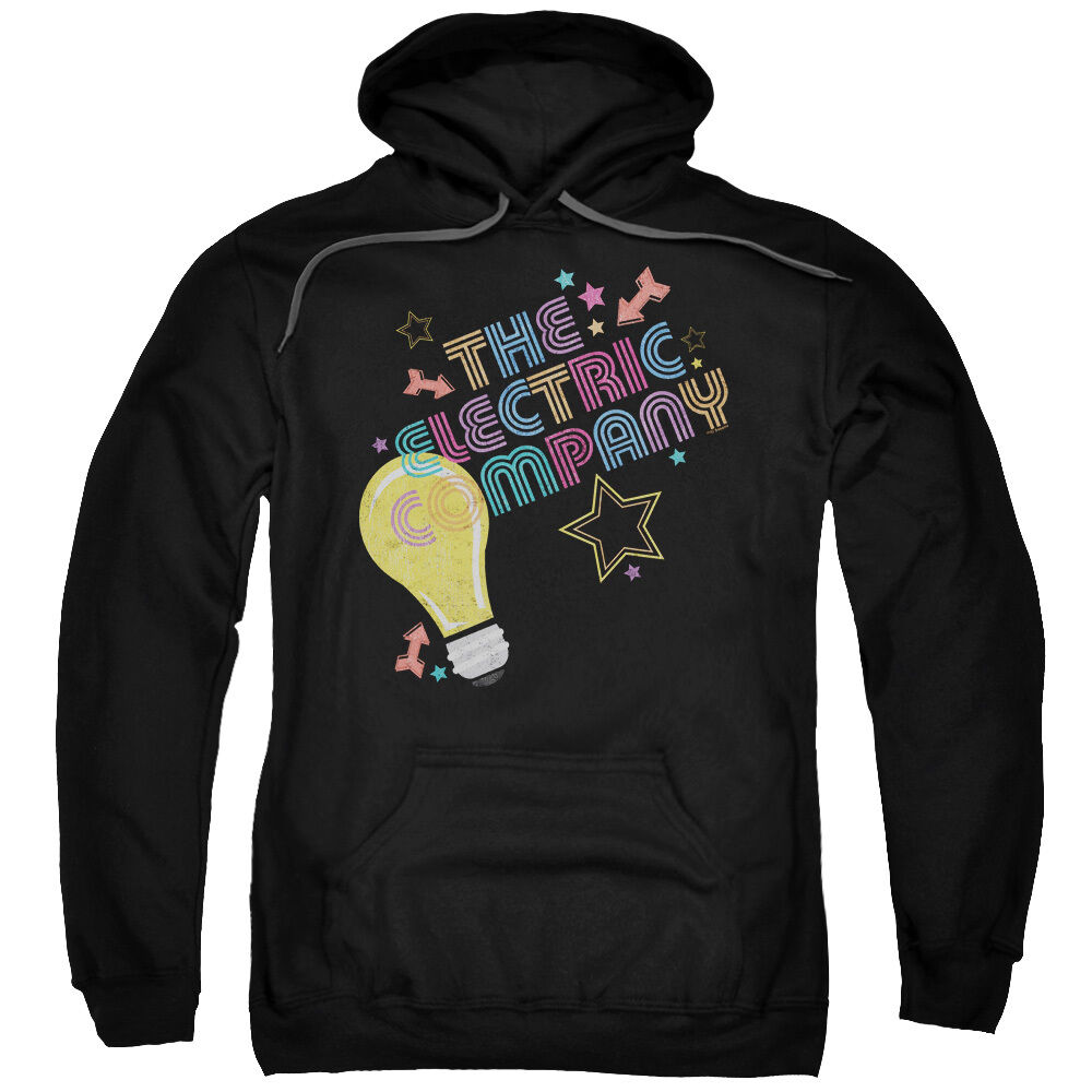 The Electric Company TV Show ELECTRIC LIGHT Licensed Adult Sweatshirt Hoodie