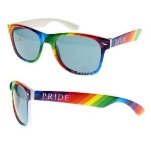 Rainbow Pride Sonnenbrille Gerahmtes Uv400 Kostüm Retro-kostüm Karneval-party Niedriger Preis