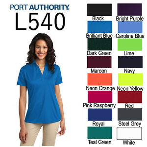 Port-Authority-L540-Womens-Dri-Fit-Silk-Touch-Polo-XS-4XL-Golf-Shirt