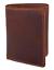 thumbnail 12 - Brown-RFID-Blocking-Vintage-Hunter-Leather-Men-039-s-Trifold-Wallet-Center-Flap