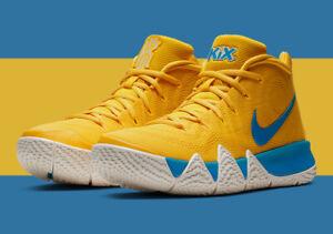 Nike Kyrie 4 Kix Yellow Blue Size 8