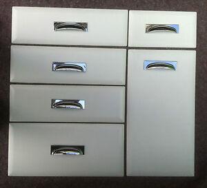 Image is loading FP-&-P-Chamfered-edge-Matt-White-Kitchen- & FP\u0026P Chamfered edge Matt White Kitchen Cupboard Doors fits Howdens ...