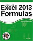Excel 2013 Formulas by John Walkenbach (Paperback, 2013)