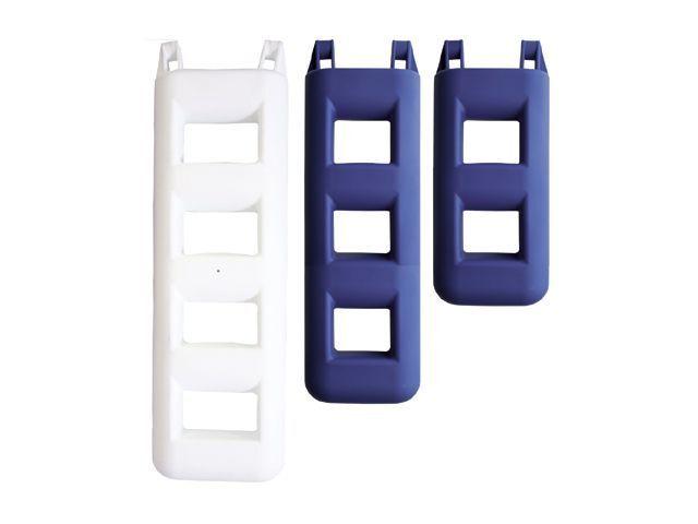 Treppenfender weiß/blau 2 oder 6 Stufen Stufenfender Stiefelfender