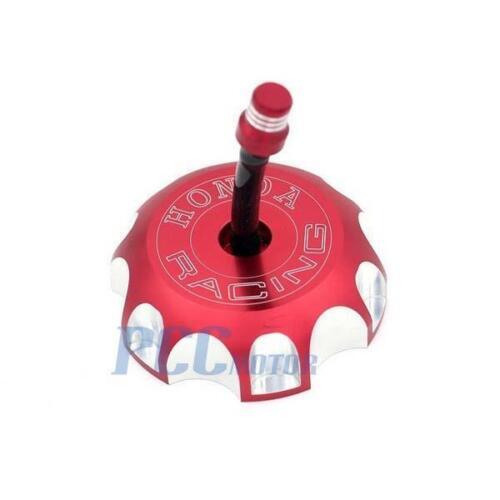 NEW RED CNC BILLET FUEL GAS CAP For Honda 2004-2009 CRF250R//X CRF450R//X H GC10