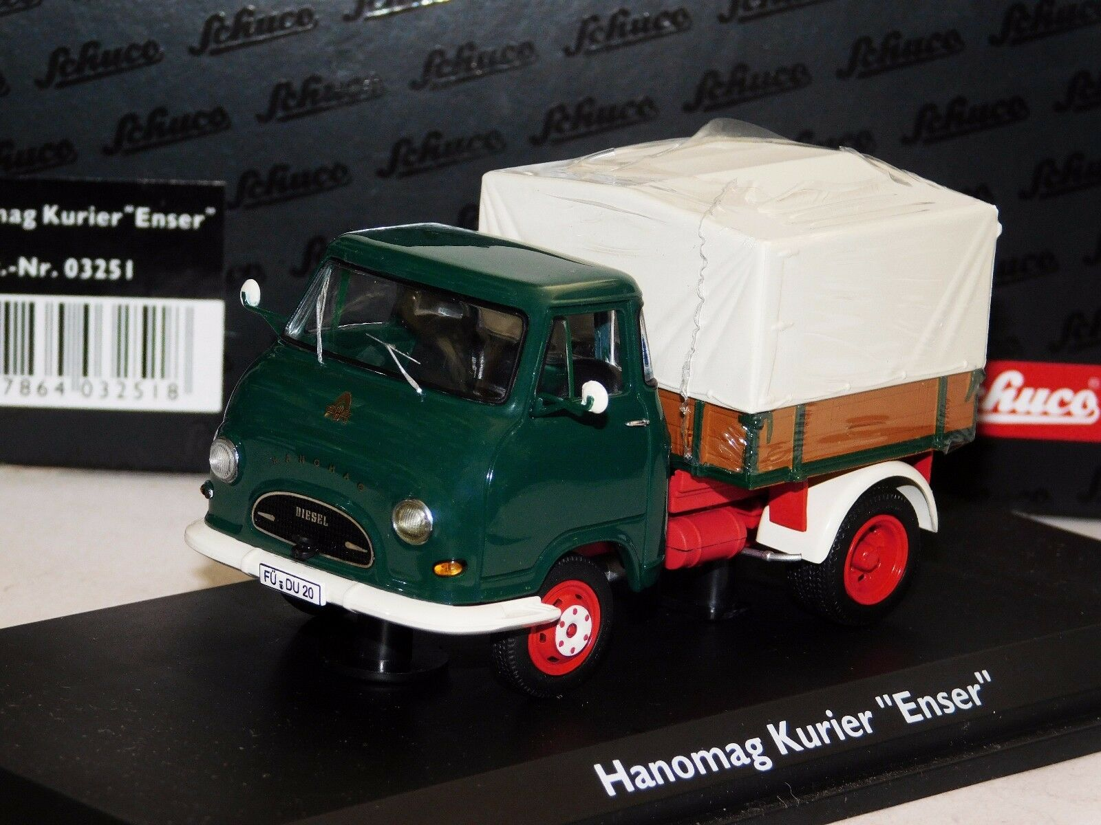 Hanomag Kurier Enser Camion camión Schuco 03251 1 43