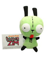 Alien Invader Zim Gir 3d Big Eyes Green Plush Doll 5.5inch Lovely Toy Us Ship
