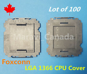 LOT 8 Pcs  FOXCONN  LGA2011-3 CPU MOTHER BOARD SOCKET COVER BLACK