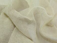 105 CM WIDE -100% COTTON MUSLIN SCRIM FABRIC per Metre Cloth Craft Material