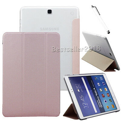 "Smart Leather Cover Case Fr Samsung Galaxy Tab A E S3 S2 7"" 8"" 9.7"" 10.1"" Tablet"