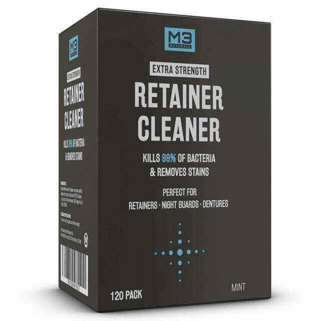 M3 Naturals Dental Denture And Retainer Cleaner Tablets 120 Tablets For Sale Online Ebay