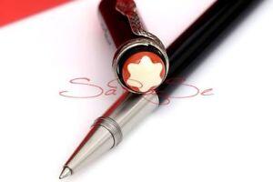 Montblanc-Rouge-et-Noir-Rollerball-Pen-Fineliner-Special-Edition-Schlange-Neu