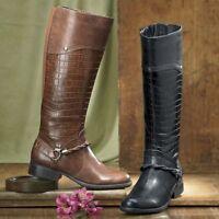 Womens Life Stride Black X-harness Boots Lifestride X Harness Size 6w 6 W