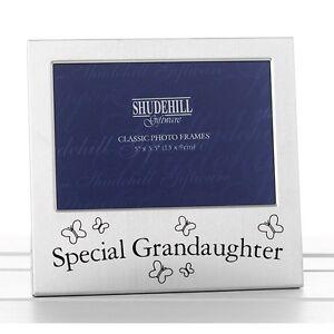 Special-Grandaughter-Satin-silver-photo-frame-shudehill-Giftware