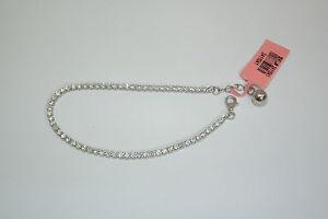 """.925 Sterling Silver Simulated Diamond 7.5"""" Tennis Bracelet Neuf avec étiquettes et boîte-afficher le titre d`origine lOcmISGj-09154743-198869209"""