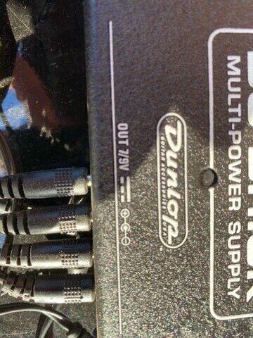 Multi strømforsyning. , Jim Dunlop DC Brick