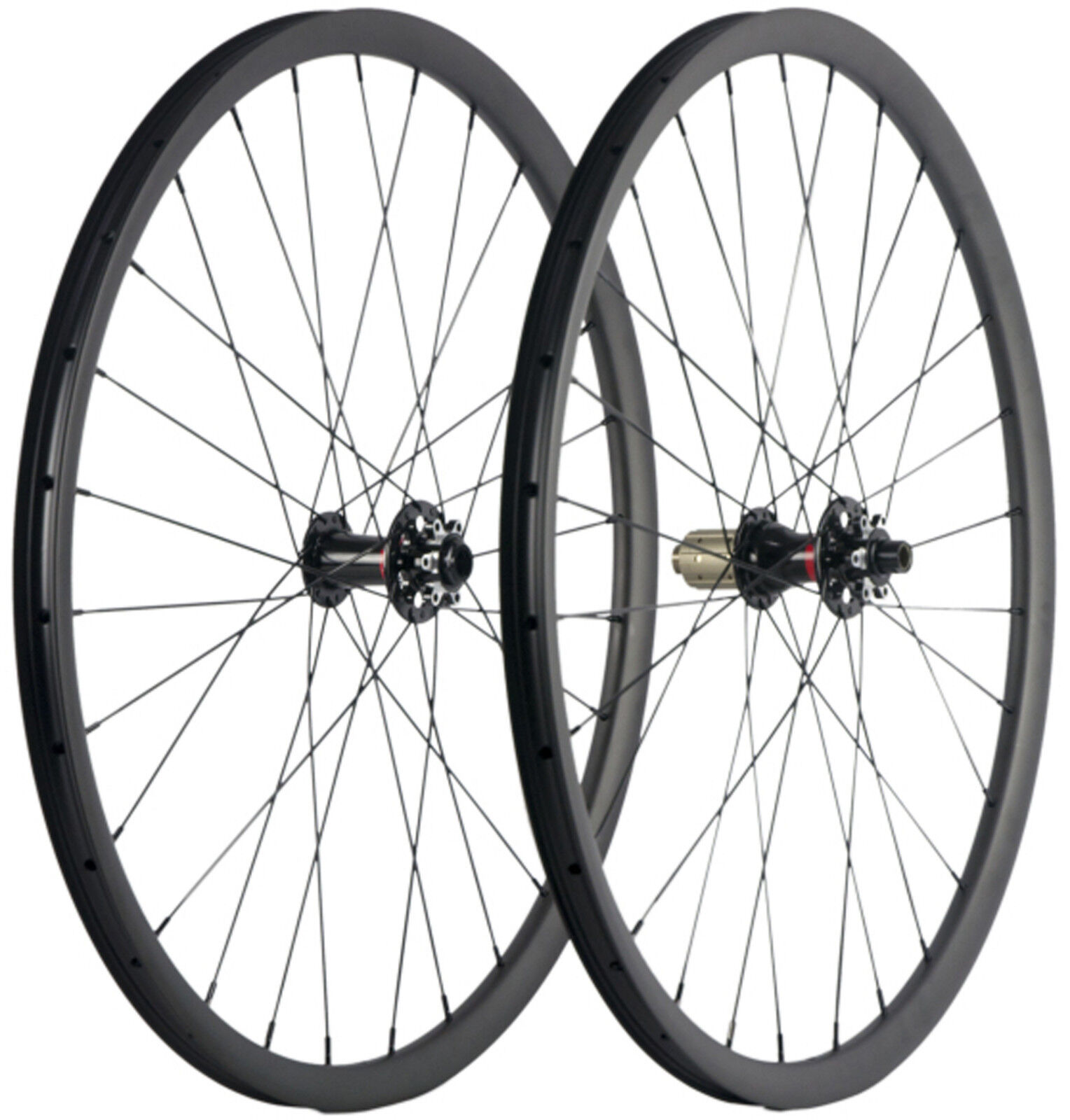 29ER Carbon Wheels MTB Wheelset 30mm Width Tubeless Mountain Bike Sram Sram XD