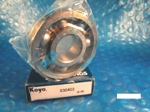 KOYO 6304 C3 Single Row Deep Groove Radial Bearing Timken 304K, SKF, NSK, FAG