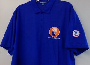 51985065a Jersey Knights WHA Hockey Embroidered Mens Polo S-6XL, LT-4XLT NHL ...
