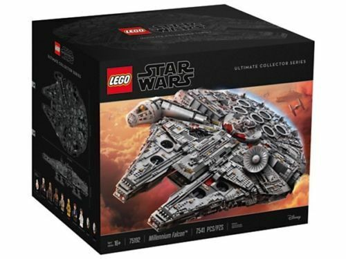 Lego Star Wars 75192 UCS Millennium Falcon NEW BOXED UNOPENED **BEST PRICE**