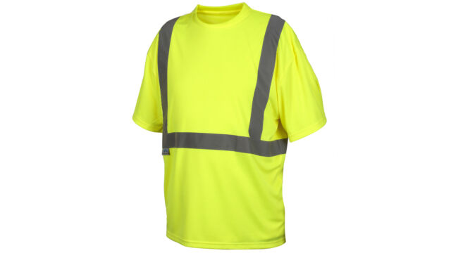 NEW PYRAMEX RTS2110BL RTS21B Series Lime T-Shirt