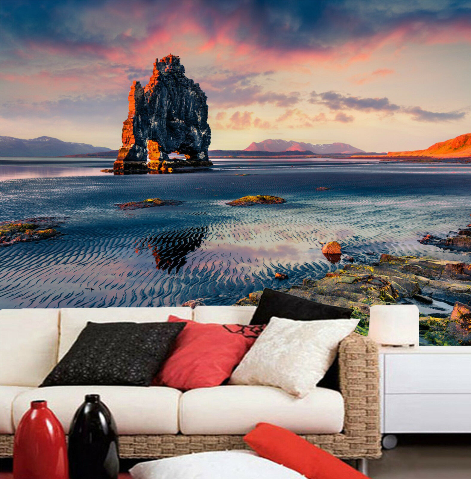 3D Small Stone Sea 011 Wall Paper Wall Print Decal Wall Deco Indoor Wall
