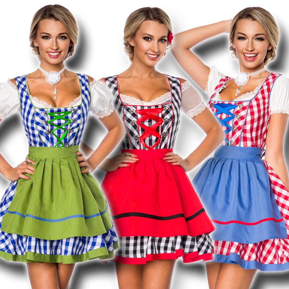 70003 voiturereau du tablier xs-3xl costumes robe mini robe Oktoberfest Costume Traditionnel