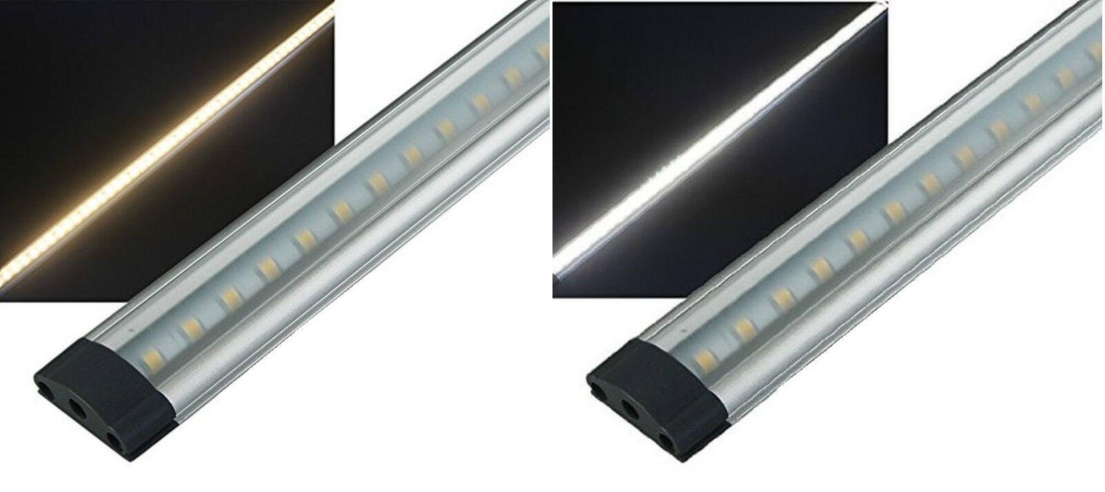 TOUCH DIMMER LED unterbauleiste 3,3 W alluminio 30cm lungo 1cm altezza