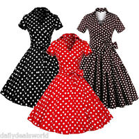 WOMENS CLASSY AUDREY VINTAGE 1950's ROCKABILLY PINUP SWING EVENING DRESS HEPBURN