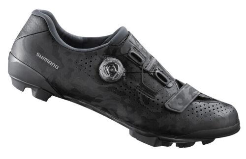 US 8.9 Shimano RX8 Carbon Gravel Boa MTB Cycling Shoes Black SH-RX800 43