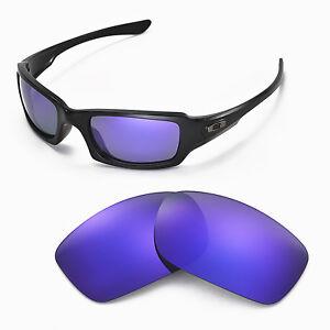 New-Walleva-Polarized-Purple-Lenses-For-Oakley-Fives-Squared
