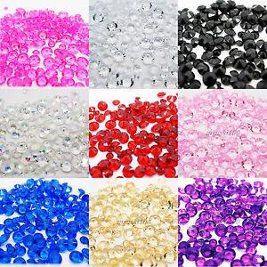 Table-Diamant-Confetti-Cristal-Decoration-perles-acrylique-Scatter-Mariage-Fete